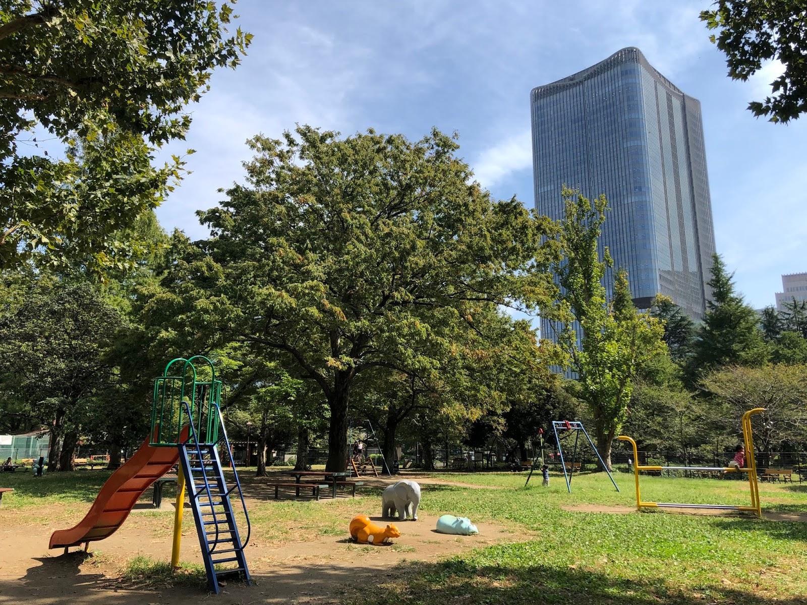 Hibiya park playground