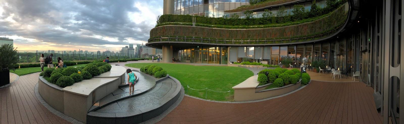 Tokyo Hibiya Midtown park view garden