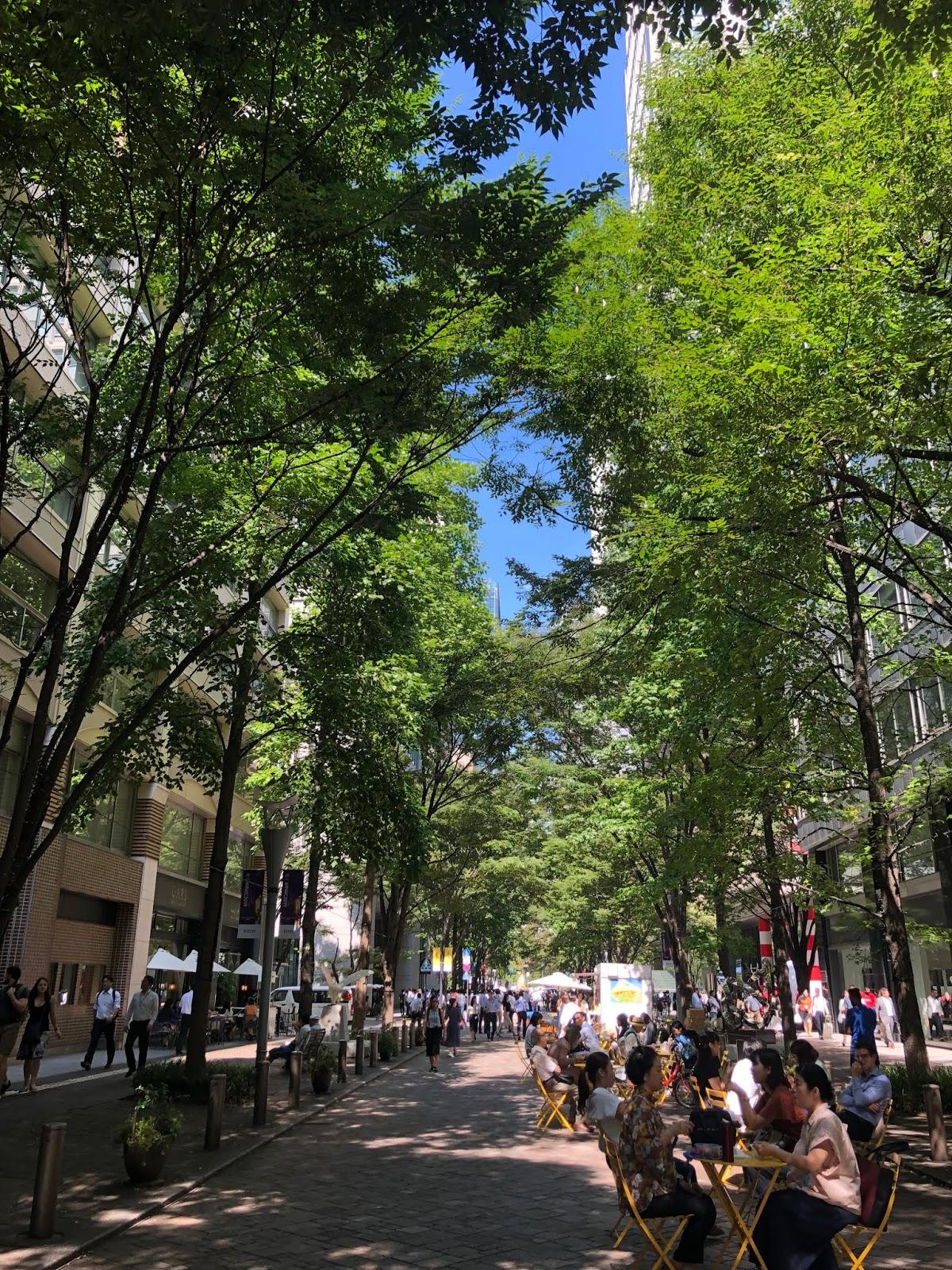 Marunouchi street