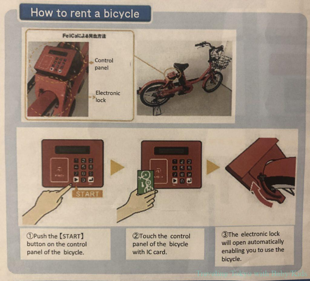 How to rent a bike