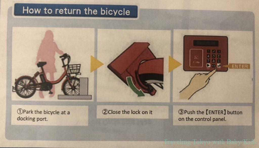 How to return bike